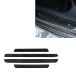 Car Carbon Fiber Threshold Decorative Sticker for Audi A6 S6 C7 A7 S7 4G8 2012-2018, Left and Right Drive Universal