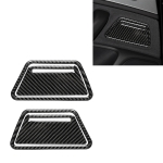 Car Carbon Fiber Ashtray Panel Decorative Sticker for Audi A6 S6 C7 A7 S7 4G8 2012-2018, Left and Right Drive Universal