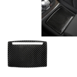 Car Carbon Fiber Water Cup Holder Panel Decorative Sticker for Audi A6 S6 C7 A7 S7 4G8 2012-2018, Left and Right Drive Universal