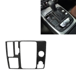 Car Carbon Fiber One-button Start Panel Decorative Sticker for Audi A6 S6 C7 A7 S7 4G8 2012-2018, Left Drive