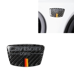 Car Carbon Fiber German Flag Pattern Doorpost Decorative Sticker for Audi TT, Left and Right Drive Universal