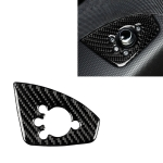 Car Carbon Fiber Door Button Decorative Sticker for Audi TT 8n 8J MK123 TTRS 2008-2014, Left Drive, B Style