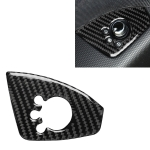Car Carbon Fiber Door Button Decorative Sticker for Audi TT 8n 8J MK123 TTRS 2008-2014, Left Drive, A Style