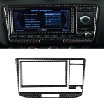 Car Carbon Fiber Air Conditioning CD Panel Decorative Sticker for Audi TT 8n 8J MK123 TTRS 2008-2014, Left and Right Drive Universal, A Style