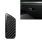 Car Carbon Fiber Passenger Seat Hand Box Switch Decorative Sticker for Audi A3 / 8V 2014-2019, Left Drive
