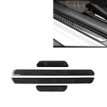 Car Carbon Fiber Threshold Decorative Sticker for Audi A3 2014-2019, Left and Right Drive Universal