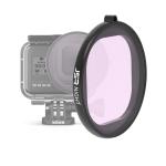 JSR Round Housing NIGHT Lens Filter for GoPro HERO8 Black