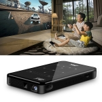 P09 Portable 4K Ultra HD DLP Mini Smart Projector with Infrared Remote Control, Amlogic S905X 4-Core A53 up to 1.5GHz Android 6.0, 1GB+8GB, Support 2.4G/5G WiFi, Bluetooth, TF Card (Black)