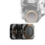 JSR Drone 3 in 1 Variable VND 2-5 Stop + VND 6-9 Stop + NIGHT Light Pollution Reduction Lens Filter for DJI MAVIC Air 2