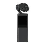 P6A 1080P Pocket Gimbal Camera Mini PTZ Vlog Camera(Black)