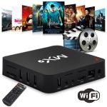 MX9 4K TV Box Android 10.0 Media Player wtih Remote Control, Rockchip RK3229 Quad Core ARM Cortex-A7, 1GB+8GB, 5G WiFi / Ethernet / TF / USB