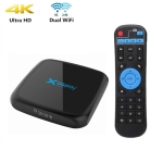 X99 Play 4K TV Box Android 9.0 Media Player wtih Remote Control, Rockchip RK3318 Quad Core 64-bit ARM Cortex-A53, 4GB+32GB, Ethernet / TF / USB