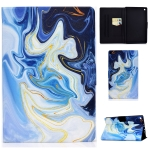 For Amazon Kindle Fire HD 8 (2016) / (2017) Voltage Painted Pattern Tablet PC Protective Leather Case with Bracket & Card Slot & Sleep / Wake-up & Anti-skid Strip(Blue Marble)