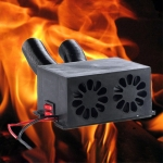 Engineering Vehicle Electric Heater Demister Defroster, Specification:DC 24V 2-hole