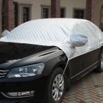 Car Half-cover Car Clothing Sunscreen Heat Insulation Sun Nisor, Plus Cotton, Size:YXXL: 5×1.8×1.9m