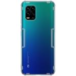 For Xiaomi Mi 10 Lite NILLKIN Nature TPU Transparent Soft Protective Case(Grey)