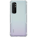 For Xiaomi Note 10 Lite NILLKIN Nature TPU Transparent Soft Protective Case(Grey)
