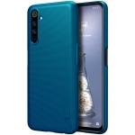 For OPPO Realme 6 Pro NILLKIN Frosted Concave-convex Texture PC Protective Case(Blue)