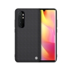 For Xiaomi Note 10 Lite NILLKIN Shockproof TPU+PC Textured Protective Case(Black)