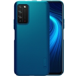 For Huawei Honor X10 NILLKIN Frosted Concave-convex Texture PC Protective Case(Blue)