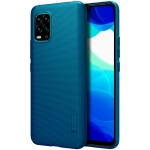 For Xiaomi Mi 10 Lite NILLKIN Frosted Concave-convex Texture PC Protective Case(Blue)