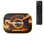 HK1 RBOX-R1 HD1080P Smart TV Box, Android 10.0, RK3318 Quad-Core 64bit Cortex-A53, Support TF Card, SPDIF, LAN, AV, 2.4G/5G WiFi, USBx2, Specification:4GB+64GB