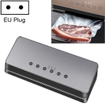 Automatic Vacuum Sealer Household Food Preservation Packaging Machine, Plug Specification:EU Plug(Silver)