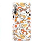 For Motorola Moto G8 Power TPU Pattern Soft Protective Case(Corgi Family)
