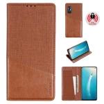 For Vivo V19 / V17 MUXMA MX109 Horizontal Flip Leather Case with Holder & Card Slot & Wallet(Brown)