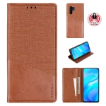 For Vivo X30 Pro MUXMA MX109 Horizontal Flip Leather Case with Holder & Card Slot & Wallet(Brown)