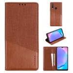 For Vivo Y17 MUXMA MX109 Horizontal Flip Leather Case with Holder & Card Slot & Wallet(Brown)