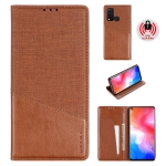 For Vivo Y50 MUXMA MX109 Horizontal Flip Leather Case with Holder & Card Slot & Wallet(Brown)