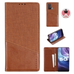 For Vivo Z6 MUXMA MX109 Horizontal Flip Leather Case with Holder & Card Slot & Wallet(Brown)