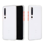For Xiaomi Mi 10 Skin Hand Feeling Series Shockproof Frosted PC+ TPU Protective Case(White)