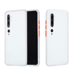 For Xiaomi Mi CC9 Pro Skin Hand Feeling Series Shockproof Frosted PC+ TPU Protective Case(White)