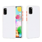 For Samsung Galaxy A41 Skin Hand Feeling Series Shockproof Frosted PC+ TPU Protective Case(White)
