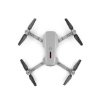 E88 4K Single Camera Foldable RC Quadcopter Drone Remote Control Aircraft(Gray)