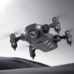 KK8 4K Camera Foldable RC Quadcopter Mini Drone Remote Control Aircraft, Color Box