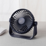 D605 Four Level Wind Speed Adjustable Portable Desktop Fan (Blue)