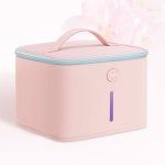 Original Xiaomi Youpin P30 59 Seconds LED Deep Ultraviolet Sterilization Drying Disinfection Bag(Pink)