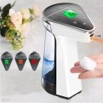 2 in 1 Handsfree Non-contact Body Infrared Thermometer + 450ml Automatic Non-contact Liquid Soap Dispenser