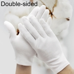 12 Pairs Labor Insurance Work Gloves, Cotton Double-sided