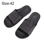 Anti-static Anti-skid Six-hole Slippers, Size: 42 (Black)