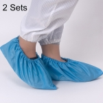 2 Sets Anti-static Striped Shoe Cover, Size:Free Size