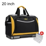WINHUNT Multi-function Oxford Cloth Large Capacity Wear-resisting Hardware Maintenance Tools Handbag Convenient Tool Bag, Size : 20 inch