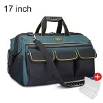 WINHUNT Multi-function Oxford Cloth Wear-resisting Hardware Maintenance Tools Handbag Convenient Tool Bag, Size : 17 inch