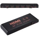 CY-042 1X4 HDMI 2.0 4K/60Hz Splitter, EU Plug