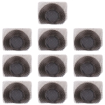 10 PCS 10 PCS Microphone / Flashlight Dustproof Mesh For iPhone 11 Pro Max / 11 Pro / 11 (Black)
