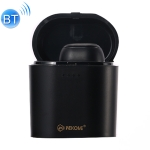 WK P6 Unilateral Bluetooth Earphone with Charging Case (Black)
