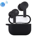 Funpods 3 Macaroon TWS V5.0 Wireless Bluetooth Headset with Charging Case & Protective Cover, Support Auto Pairing & Touch Control & Renaming Bluetooth & Locating (Black)